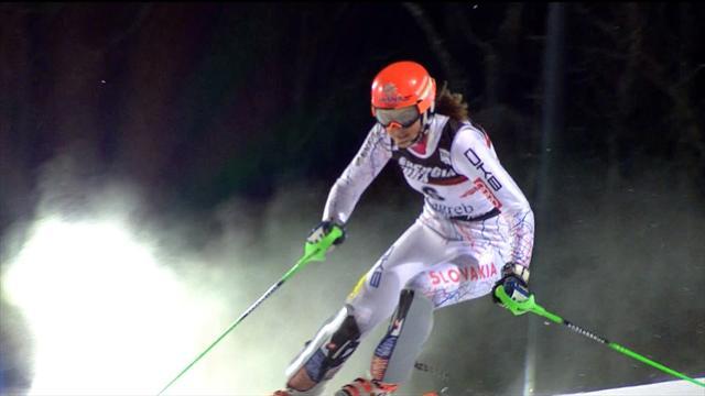 Piccola impresa per Petra Vlhova: batte la Shiffrin nello slalom di Aspen