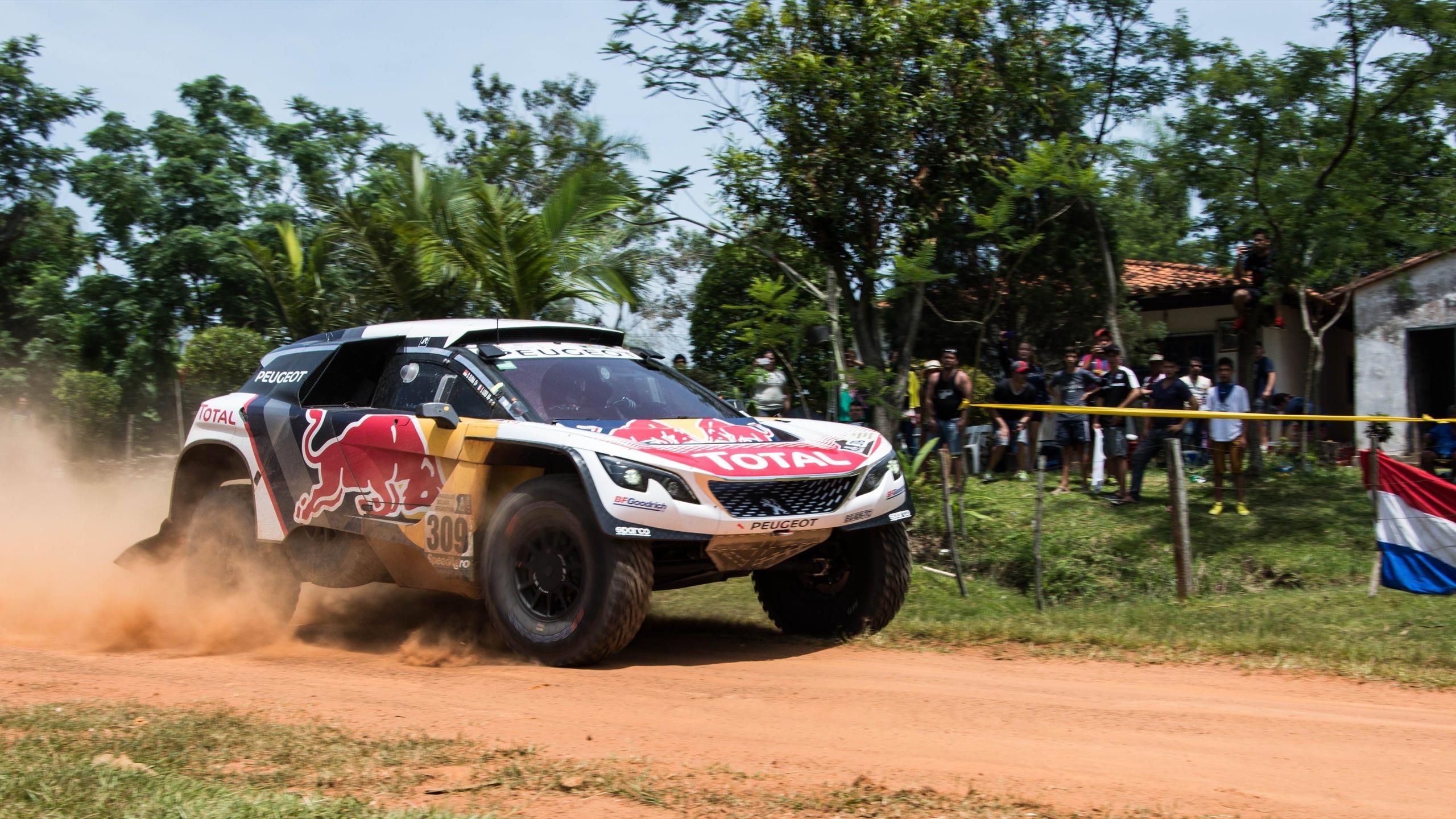 Sebastian Loeb auf der 2. Etapp der Rallye Dakar