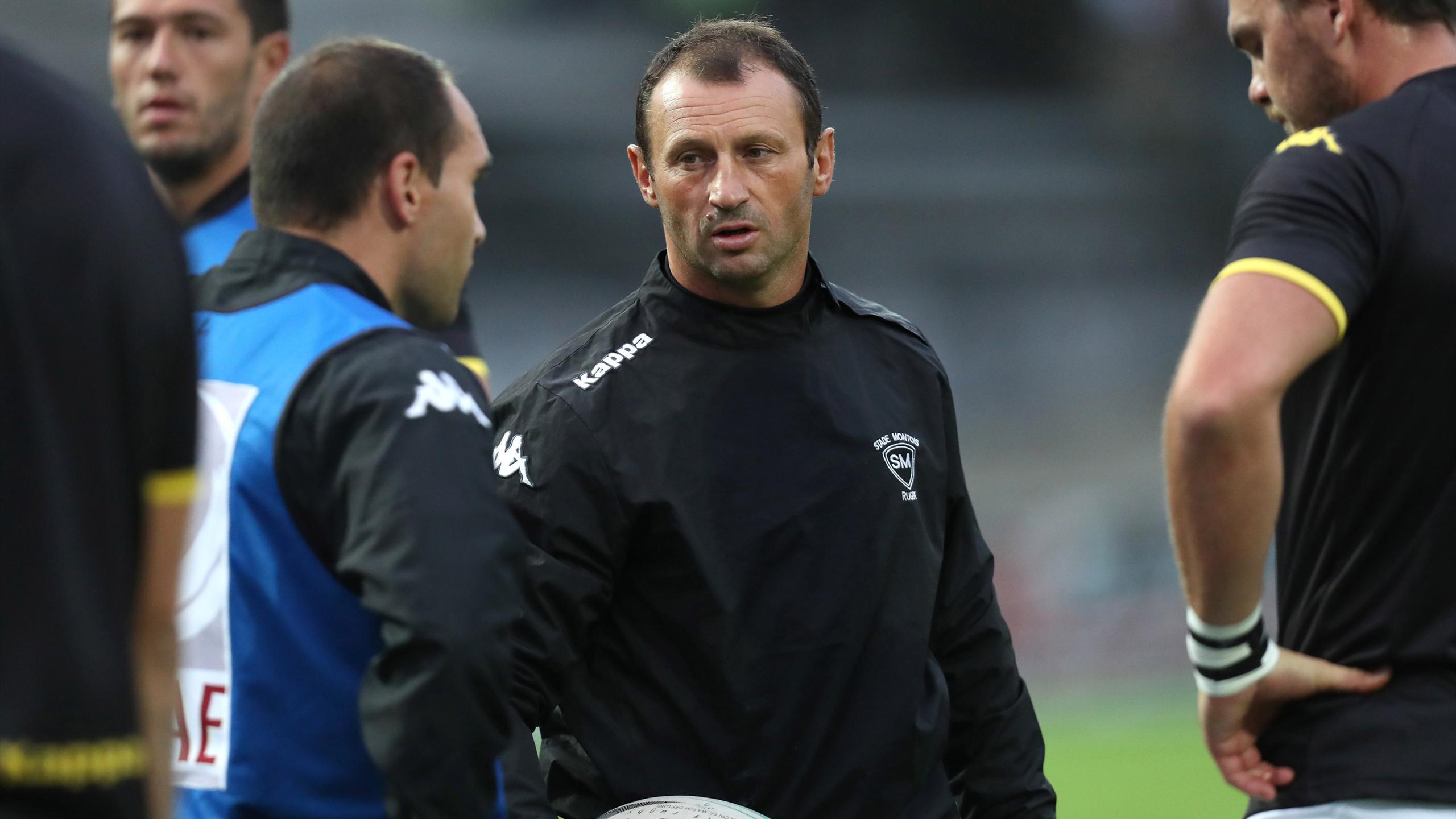 Christophe Laussucq - entraîneur de Mont-de-Marsan