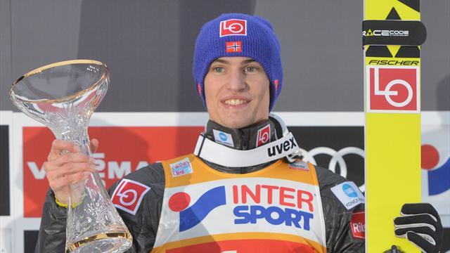 Victoria en Innsbruck y liderato en el cuatro trampolines para Daniel-Andre Tande