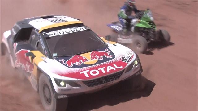 Cars: Peterhansel takes stage three, Loeb leads overall