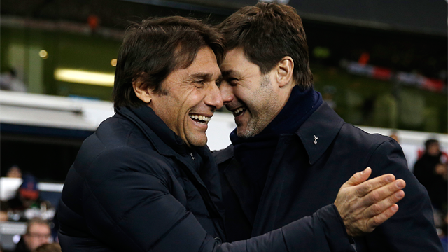 Mauricio Pochettino plays down Antonio Conte's comments about Spurs in summer