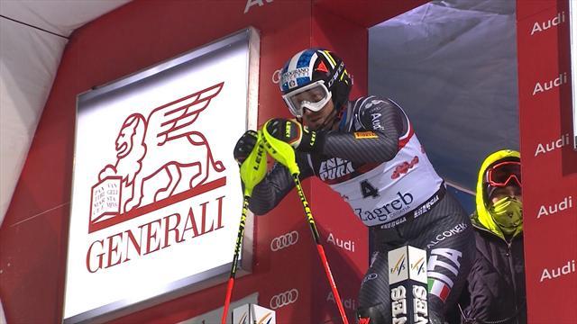 Weltcup in Zagreb: Italiener Moelgg sichert sich Slalom-Sieg