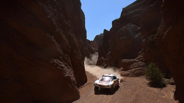 Dakar Rallisi'nde Despres'in günü