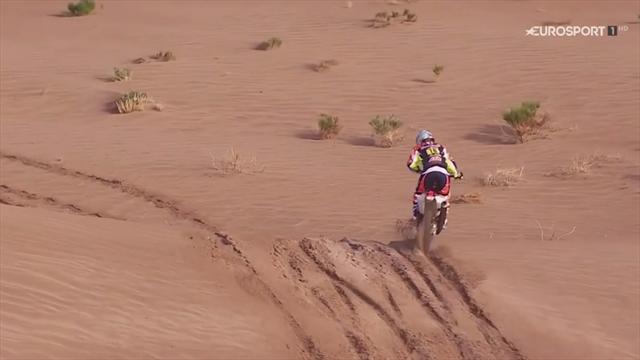 Matthias Walkner vince la 4^ tappa della Dakar, categoria moto