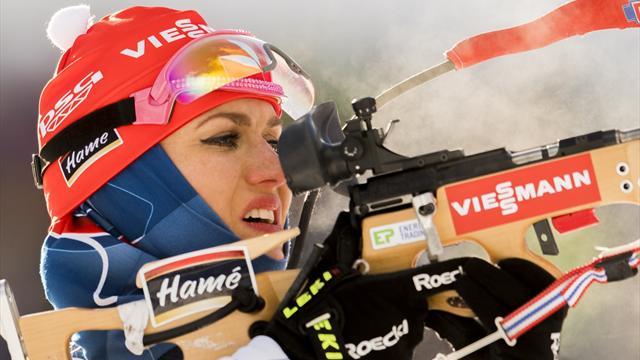 Koukalova stretches World Cup lead