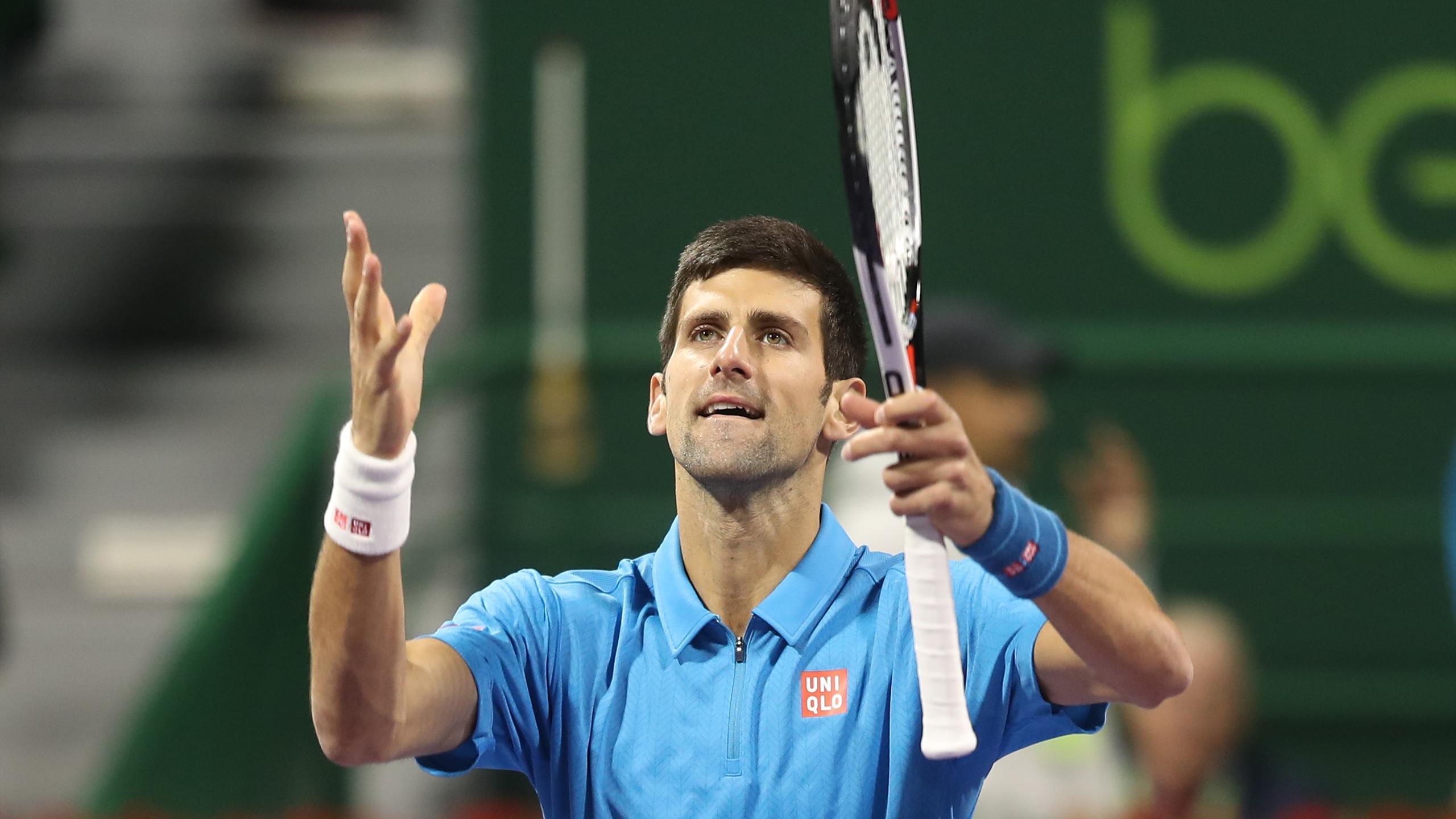 Novak Djokovic, vainqueur dans la douleur de Fernando Verdasco à Doha