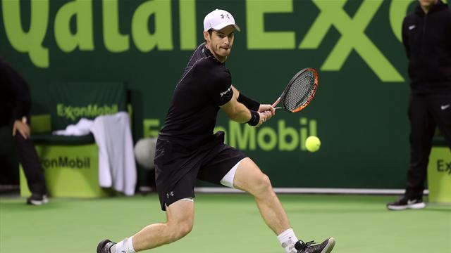 Джокович обыграл Маррея вфинале теннисного турнира вДохе
