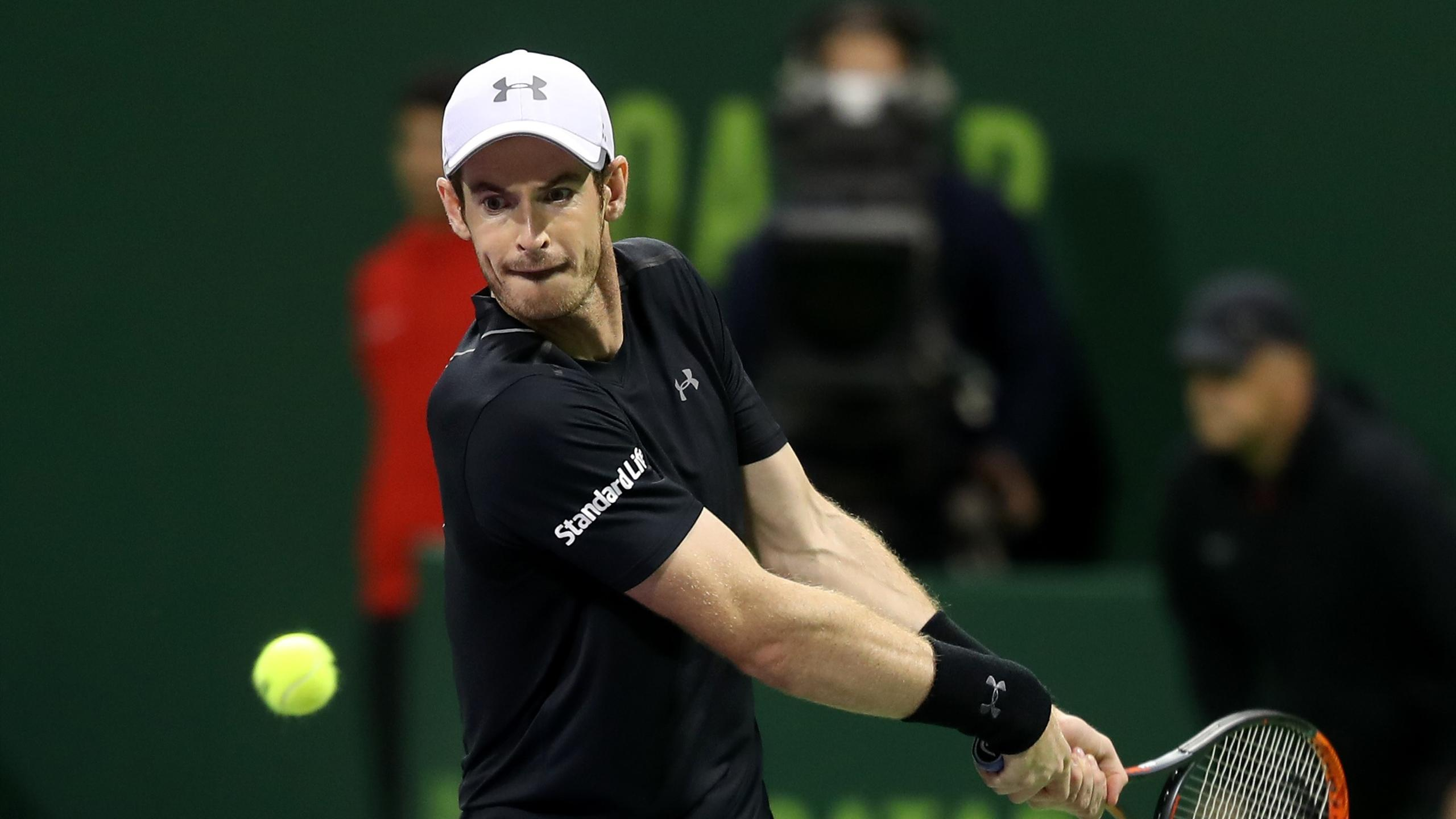 Andy Murray vainqueur de Tomas Berdych à Doha