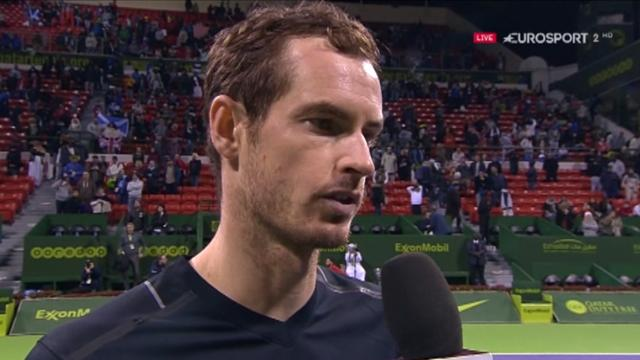 Murray: Final against Djokovic in Doha is 'perfect' ahead of Australian Open