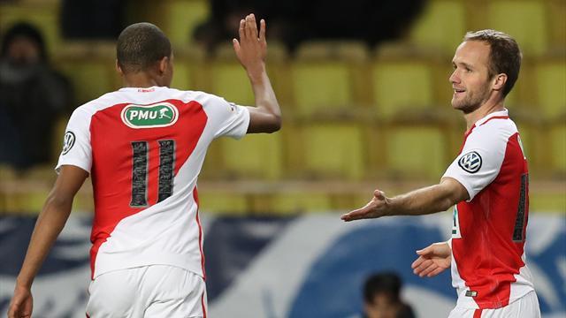 Dans la douleur, Monaco s'en sort grâce à Germain
