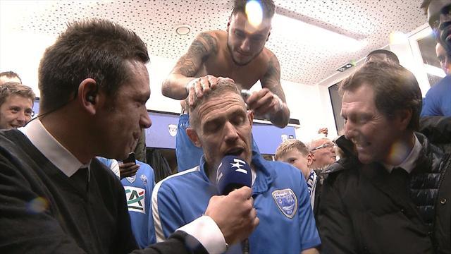 Pour le coach d'Avranches, la victoire a été synonyme de rasoir
