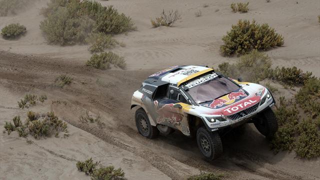 Dakar Rallisi'ne hava engeli