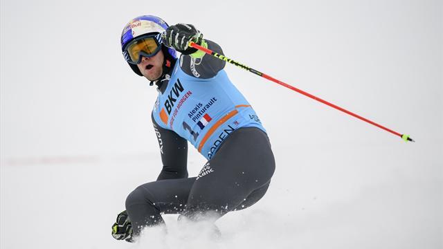 Pinturault en tête de la 1re manche au géant d'Adelboden — Ski