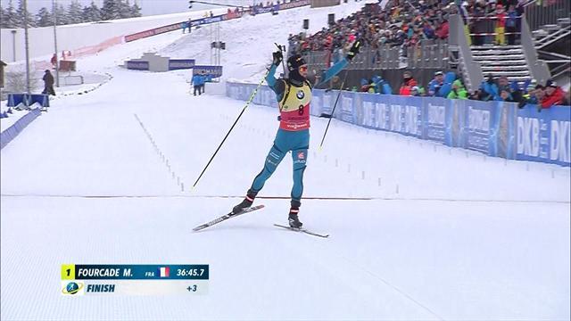 Biathlon: Fourcade gewinnt 12,5-km-Verfolgung in Oberhof