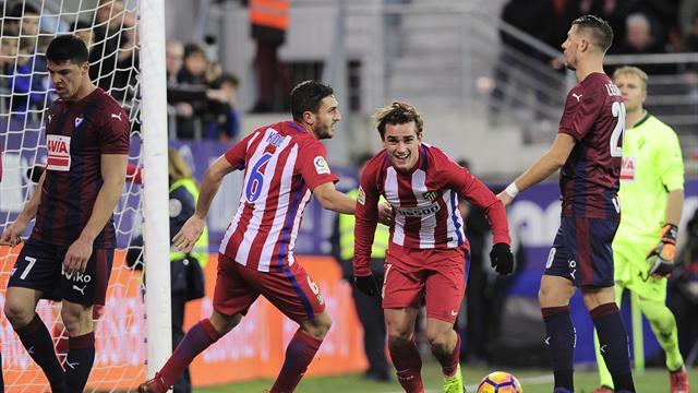 Griezmann se débloque en Liga et l'Atlético a le sourire