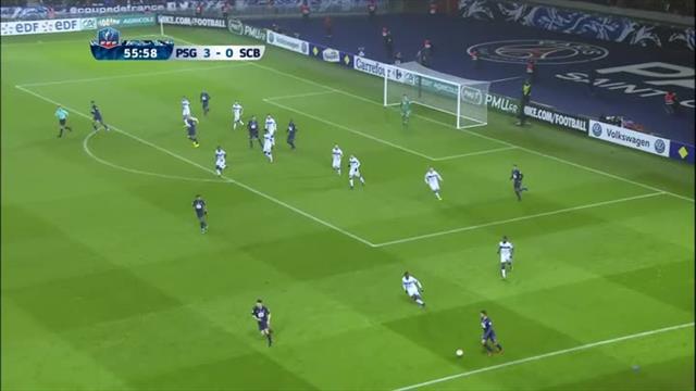 Même Thiago Motta y est allé de son but face à Bastia : 4-0 pour le PSG