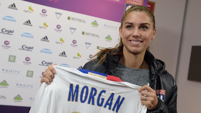 Lyon : l'Américaine Morgan inscrit ses trois premiers buts