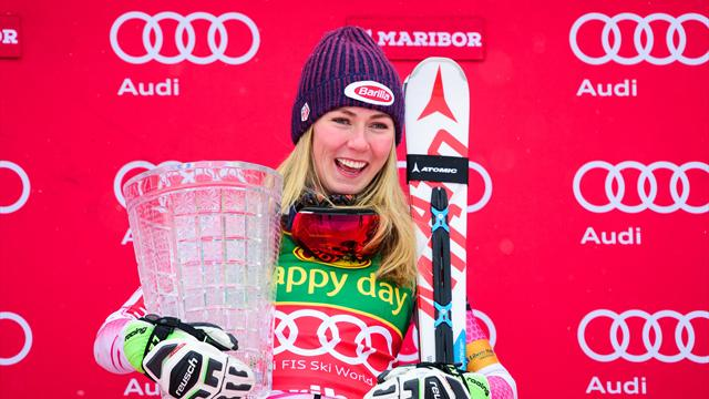 Shiffrin bounces back in style