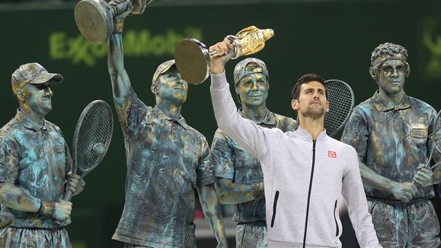 Джокович завоевал 67-й титул в том же возрасте, что Федерер и Надаль