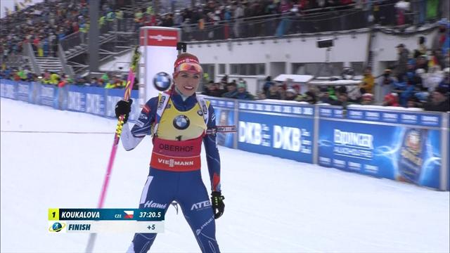 Highlights: Koukalova takes victory in Oberhof