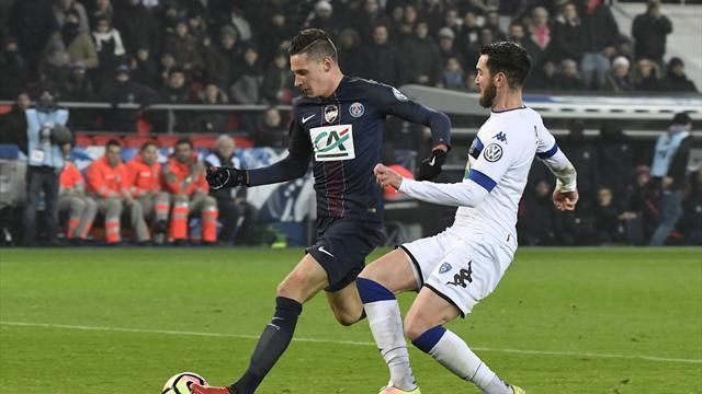 Le PSG avec Thiago Silva mais sans Draxler face à Metz
