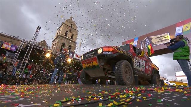 Gli italiani dopo la settima tappa della Dakar 2017