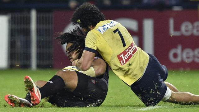 Contre Toulon, Kolelishvili a été exclu... 13 minutes