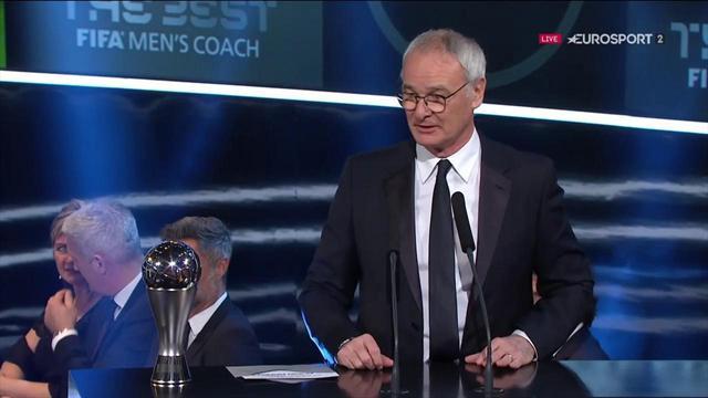 Ranieri : «Un Dieu du football avait décidé de sacrer Leicester»