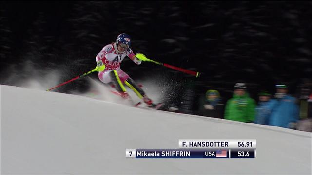 Frida Hansdotter remporte le slalom de Flachau