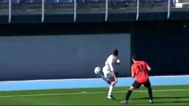 Theo Zidane (aussi) a du ballon : la preuve avec ce dribble exceptionnel