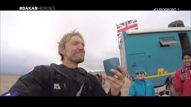 "Dakar Heroes: Manuel Lucchese ""Vorrei dormire 12 ore"""