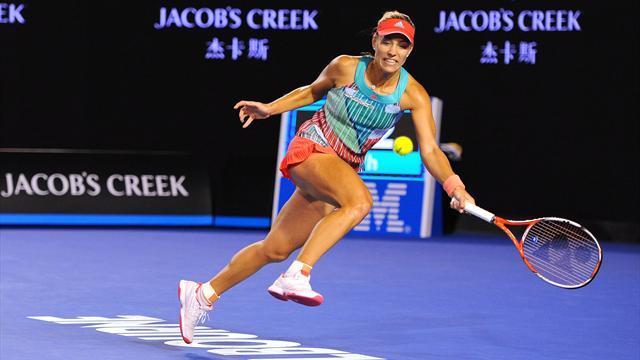 J-5 avant Melbourne : l'incroyable défense d'Angelique Kerber face à la machine Serena Williams