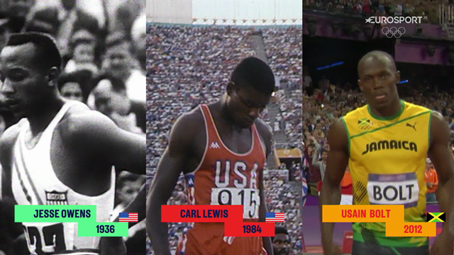 The race of legends: What if Owens, Lewis and Bolt raced each other?