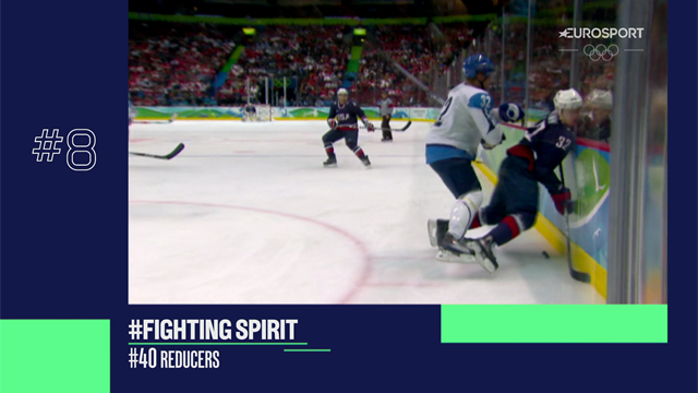 Best of Winter Olympics: Ice hockey scraps