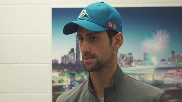 Djokovic 'pumped' as he targets record 7th Australian Open