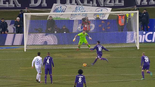 Au bout du suspense, la Fiorentina a crucifié le Chievo : Le résumé vidéo