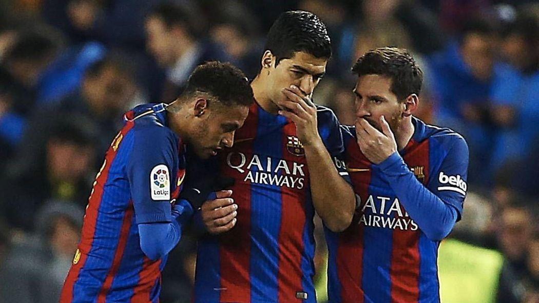 Месси, Неймар и Суарес сыграют свой 100-й совместный матч за Барселону