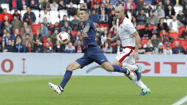 Le PSG et Monaco s'évitent