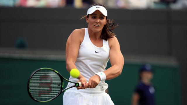 Laura Robson defeated in first round of qualifying for Australian Open