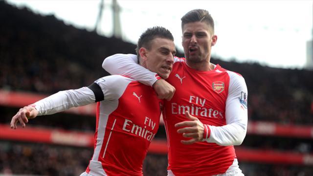 Olivier Giroud, Francis Coquelin and Laurent Koscielny sign new Arsenal deals