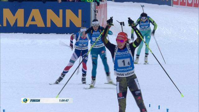 Staffetta femminile alla Germania: quinto posto per l'Italia senza Wierer