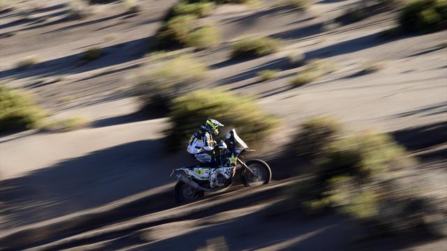 El chileno Pablo Quintanilla gana la sexta etapa y vuelve a ser líder del Dakar