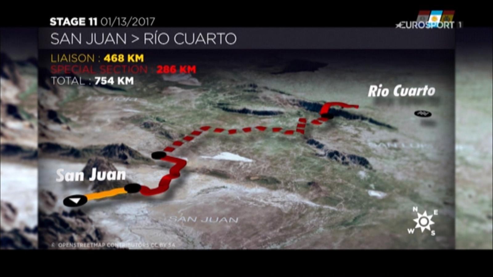 VIDEO - Dakar 2017: Vorschau 11. Etappe nach Rio Cuarto - Dakar ...