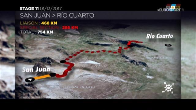 Dakar, 11esima tappa: da San Juan a Rio Cuarto