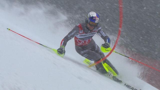 Solide à défaut d'être génial, Pinturault reste en embuscade après le slalom