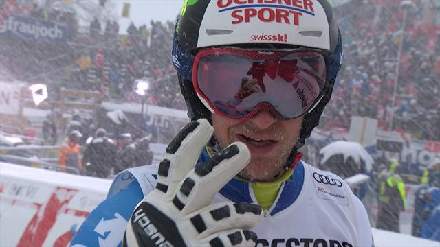 Combinata uomini, Wengen: Murisier in testa dopo lo slalom