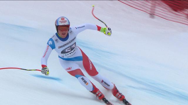 Avant la neige, Hintermann a saisi sa chance pour signer son premier succés