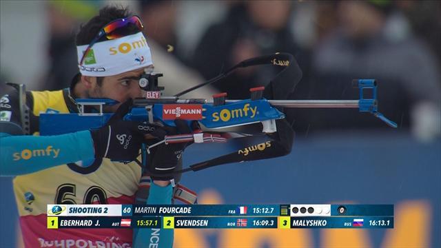 Impeccable au tir, impérial sur les skis, Fourcade a survolé le sprint