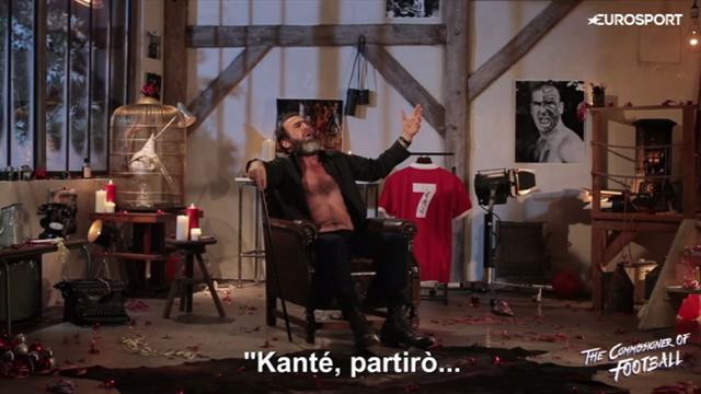 "Cantona consiglia il Leicester: ""Clonate Kanté per salvare Ranieri"""